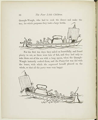 Verse Photograph - A Book Of Nonsense By Lear by British Library