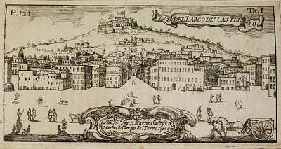 18th Century Photograph - An Illustration Of 18th Century Naples by British Library