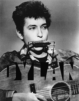 Bob Dylan Mixed Media - Bob Dylan by Marvin Blaine
