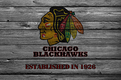 Stanley Cup Photograph - Chicago Blackhawks by Joe Hamilton