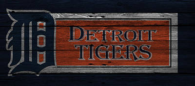 Baseball Photograph - Detroit Tigers by Joe Hamilton