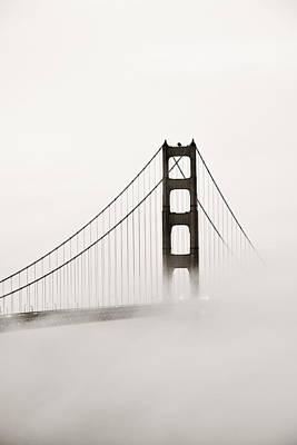 Photograph - Golden Gate Bridge by Songquan Deng