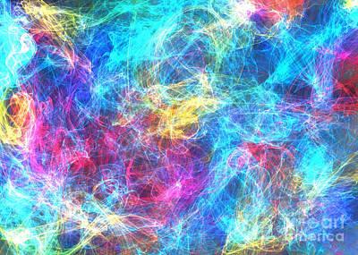Digital Art - Splish Splash by Ed Churchill