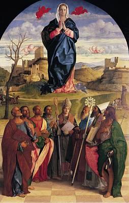 Italy, Veneto, Venice, Accademia Art Print by Everett