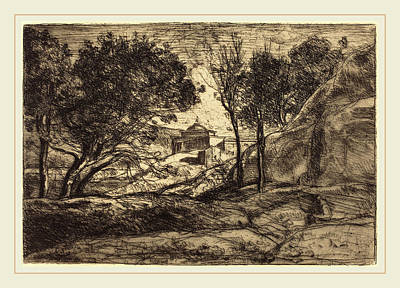 Jean-baptiste-camille Corot French, 1796-1875 Print by Litz Collection