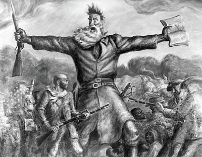 John Brown (1800-1859) Art Print