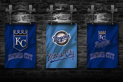 Kansas City Royals Art Print by Joe Hamilton