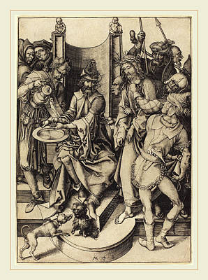Martin Schongauer German, C. 1450-1491 Art Print