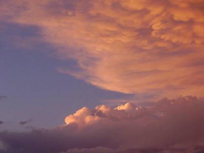 Montana Clouds Art Print by Yvette Pichette