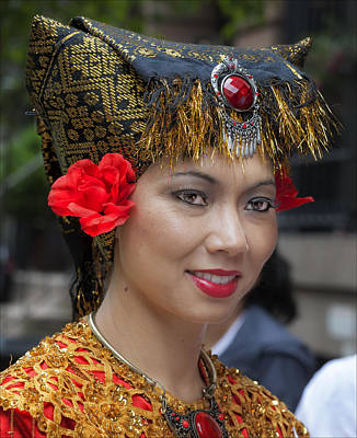 Aloha For Days - New York Dance Parade 2013 Female Dancer by Robert Ullmann