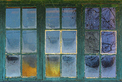 Old Photograph - 18 Panes Of History by Kent Olsson
