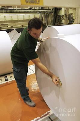 Paper Mill, France Art Print