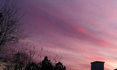 Photograph - Sky Awash With Color by Kenny Glover