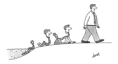 New Yorker September 26th, 2005 Art Print by Tom Cheney