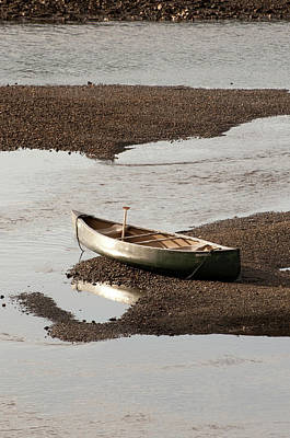 Canoe Photograph - Usa, Wa, Bainbridge Island by Trish Drury