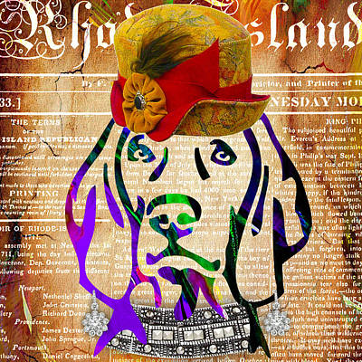 Pet Art Mixed Media - Weimaraner Collection by Marvin Blaine