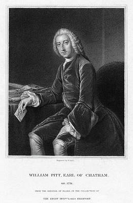 1754 Painting - William Pitt (1708-1778) by Granger