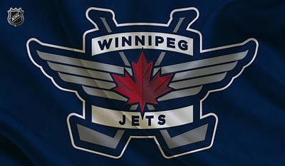 Jets Photograph - Winnipeg Jets by Joe Hamilton
