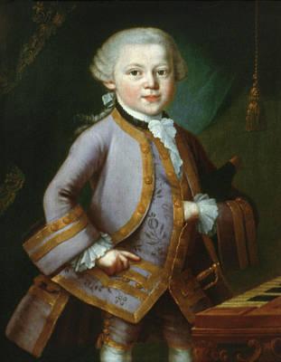 Wolfgang Amadeus Mozart (1756-1791) Art Print by Granger