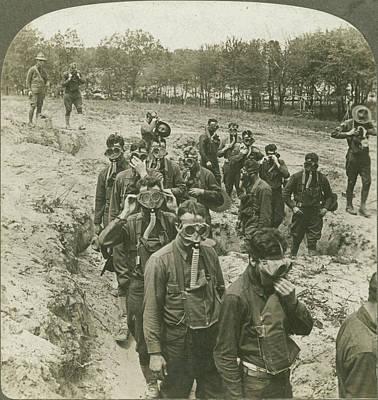 Doughboy Photograph - World War I U by Granger