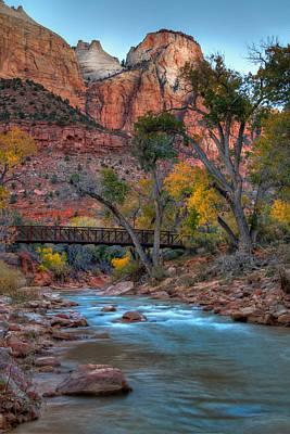 Photograph - Zion National Park Utah by Douglas Pulsipher