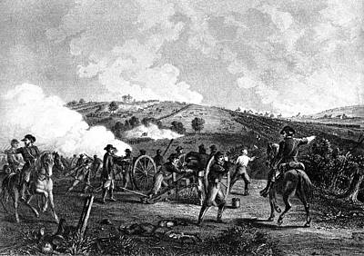 July Painting - 1800s 1860s July 1863 The Battle by Vintage Images