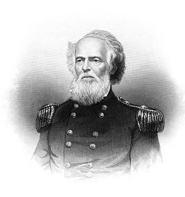 1800s 1860s Portrait Joseph K Mansfield Art Print