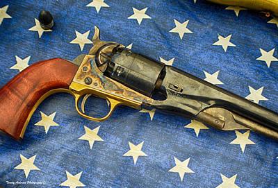 Gold Pattern - 1860 Colt Union Pistol by Tommy Anderson
