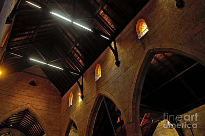 St. Jude Photograph - 1865 - St. Jude's Church  - Interior 2 by Kaye Menner