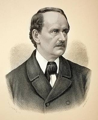 1870 Jakob Mathias Schleiden Cell Theory Art Print by Paul D Stewart
