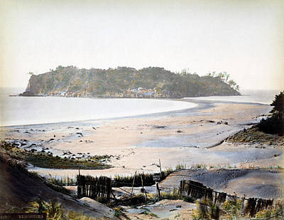 Photograph - 1870 Panorama Of Enoshima Japan by Historic Image