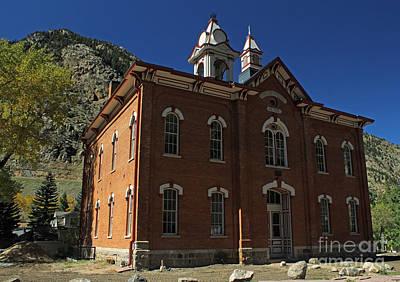 1874 School Original by Steven Parker