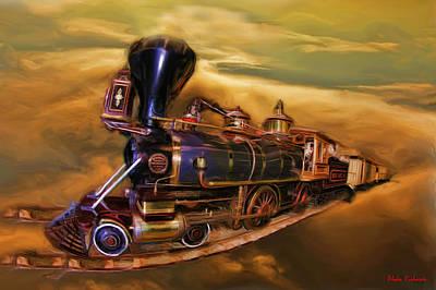 Photograph - 1876 Sonoma No 3843 Locomotive by Blake Richards