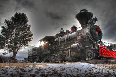 Print featuring the photograph 1880 Train by Bill Gabbert