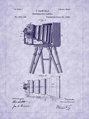 Photograph - 1885 View Camera Patent Art by Barry Jones