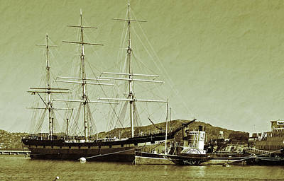 1886 Balclutha Art Print by Holly Blunkall
