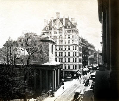 Photograph - 1890 Tremont Street Boston by Historic Image