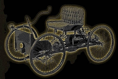 1896 Quadricycle Henry Fords First Car Art Print