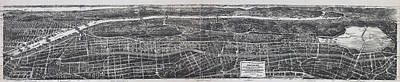 Hop Photograph - 1897 Vintage Nyc Map Of The South Bronx by Stephen Stookey