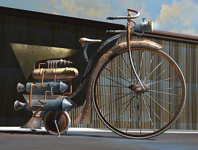 1898 Schwartze Fahrtencycle Original by Stuart Swartz