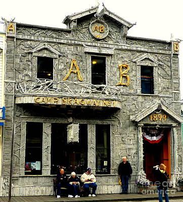 Photograph - 1899 Building by John Potts