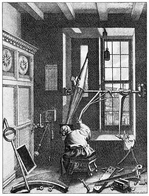 18th Century Photograph - 18th Century Astronomer by Cci Archives