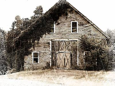 Photograph - 18th Century Barn by Marcia Lee Jones