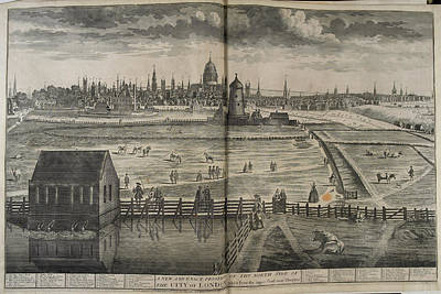 18th Century Photograph - 18th-century London by British Library