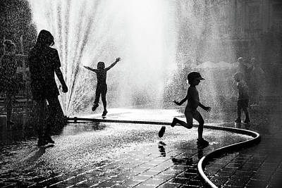 Water Play Photograph - 19 by