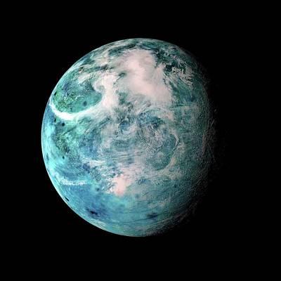 Extrasolar Photograph - Alien Planet by Detlev Van Ravenswaay