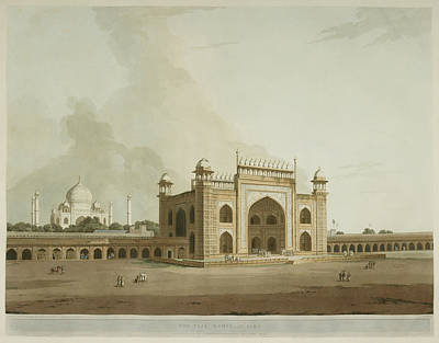Antiquities Of India Art Print by British Library