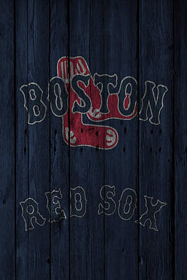 Photograph - Boston Red Sox by Joe Hamilton
