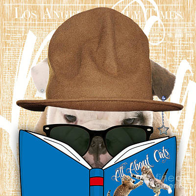 Bulldog Collection Art Print by Marvin Blaine