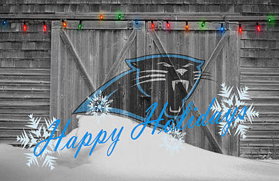 Panthers Photograph - Carolina Panthers by Joe Hamilton